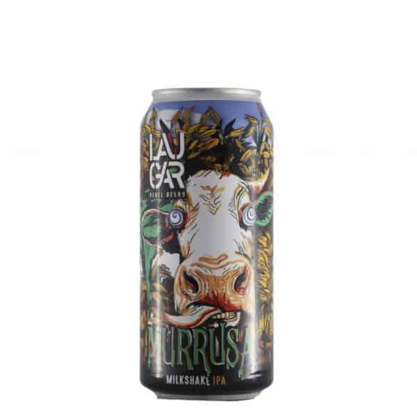 Laugar - Murrusa Lata. Cerveza vendida por la tienda online de El Retrogusto es mío. Sarriguren