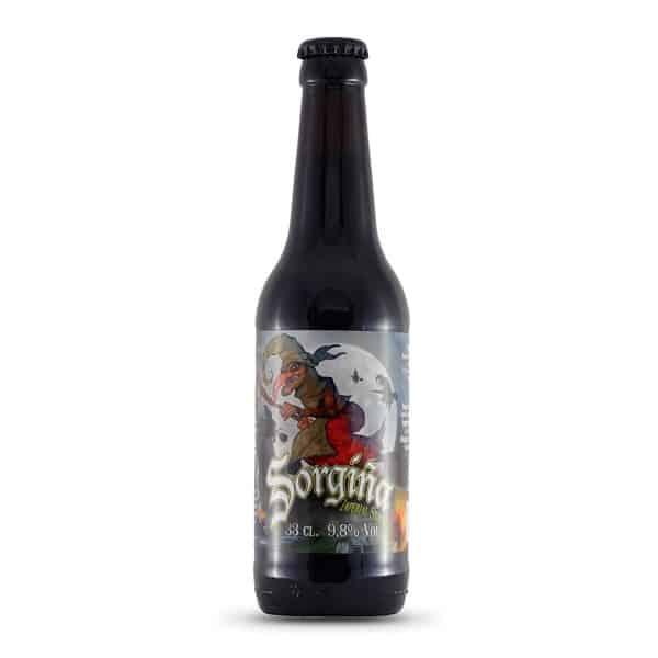 Biribil - Sorgiña. Cerveza vendida por la tienda online de El Retrogusto es mío. Sarriguren