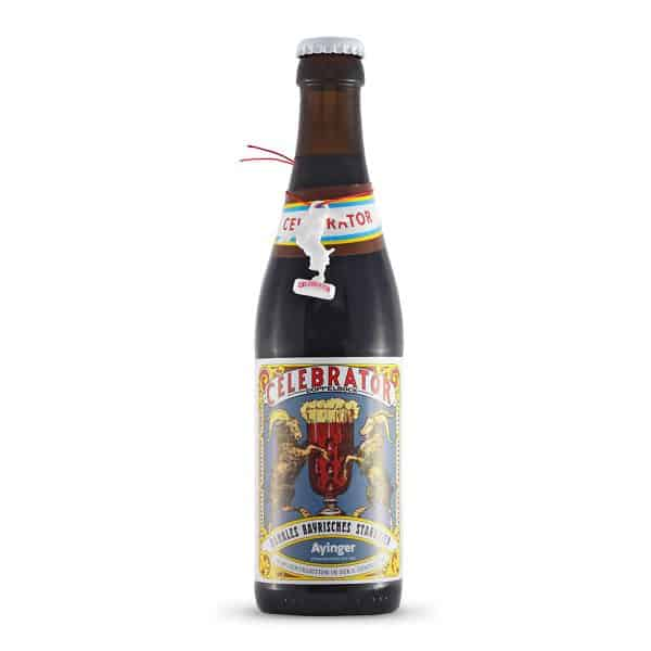 Ayinger - Celebrator. Cerveza vendida por la tienda online de El Retrogusto es mío. Sarriguren