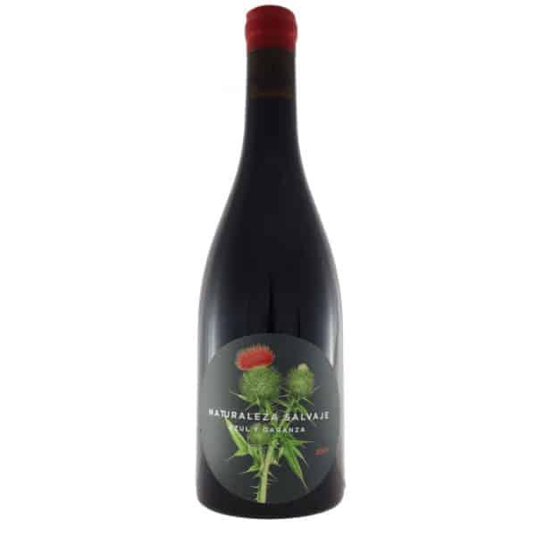 Azul y Garanza - Naturaleza Salvaje 2017. Vino vendido por la tienda online de El Retrogusto es mío. Sarriguren