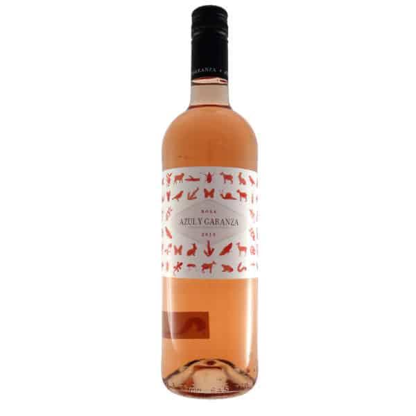 Azul y Garanza - Rosa. Vino vendido por la tienda online de El Retrogusto es mío. Sarriguren