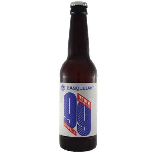 Basqueland - 99 Problems gluten free. Cerveza vendida por la tienda online de El Retrogusto es mío. Sarriguren