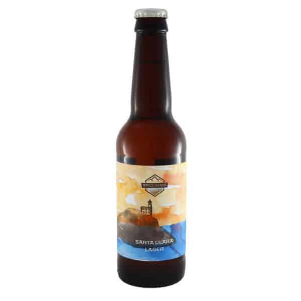 Basqueland - Santa Clara (Lager). Cerveza vendida por la tienda online de El Retrogusto es mío. Sarriguren