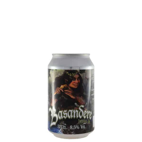 Biribil---Basandere-Lata. Cerveza vendida por la tienda online de El Retrogusto es mío. Sarriguren