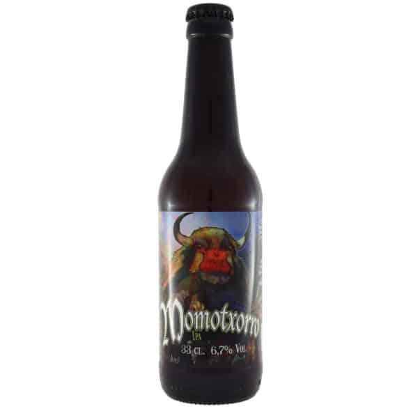 Biribil---Momotxorro. Cerveza vendida por la tienda online de El Retrogusto es mío. Sarriguren