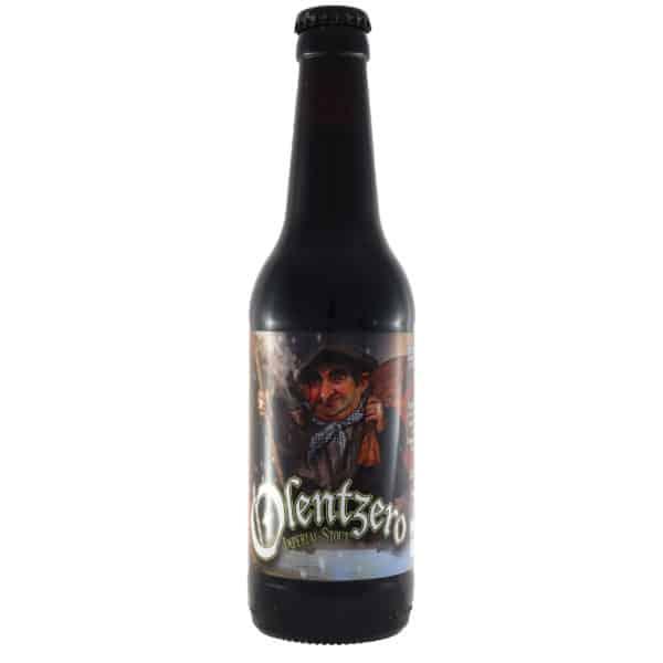 Biribil---Olentzero. Cerveza vendida por la tienda online de El Retrogusto es mío. Sarriguren