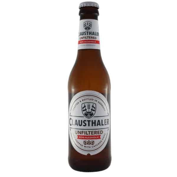 Clausthaler unfiltered sin alcohol dry hop cascade. Cerveza vendida por la tienda online de El Retrogusto es mío. Sarriguren
