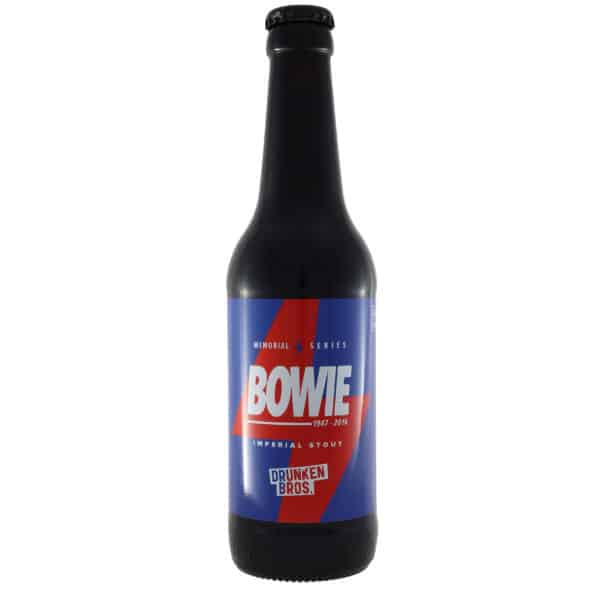 Drunken-Bros---Bowie. Cerveza vendida por la tienda online de El Retrogusto es mío. Sarriguren