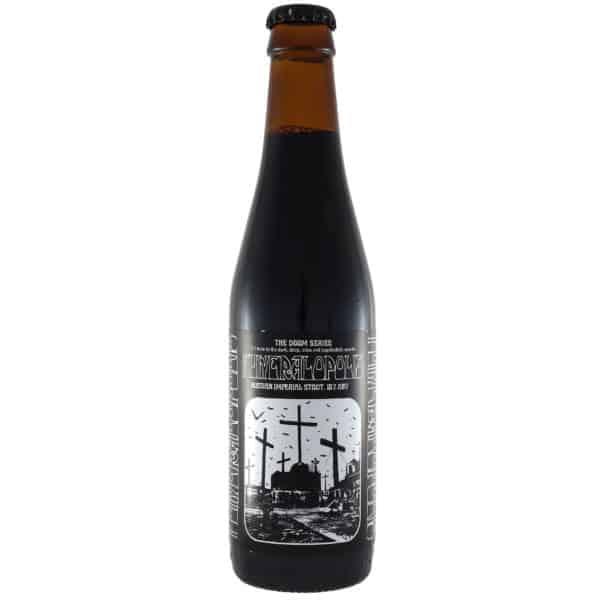Laugar-+-Malte-+-NaparBCN---Funeralopolis. Cerveza vendida por la tienda online de El Retrogusto es mío. Sarriguren
