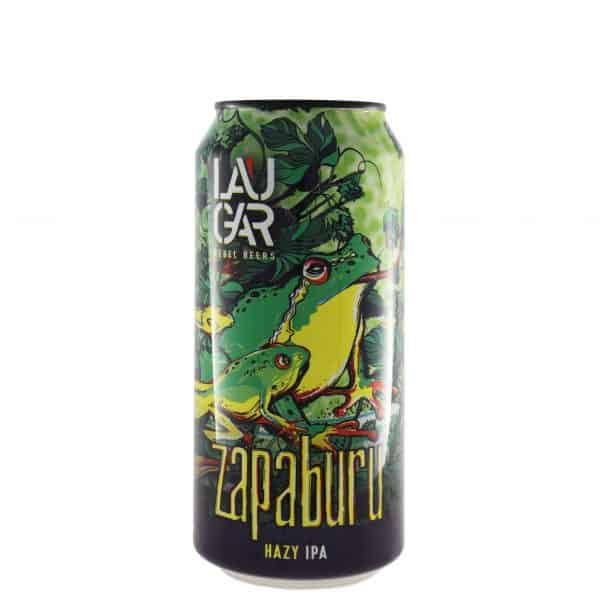 Laugar - Zapaburu. Cerveza vendida por la tienda online de El Retrogusto es mío. Sarriguren