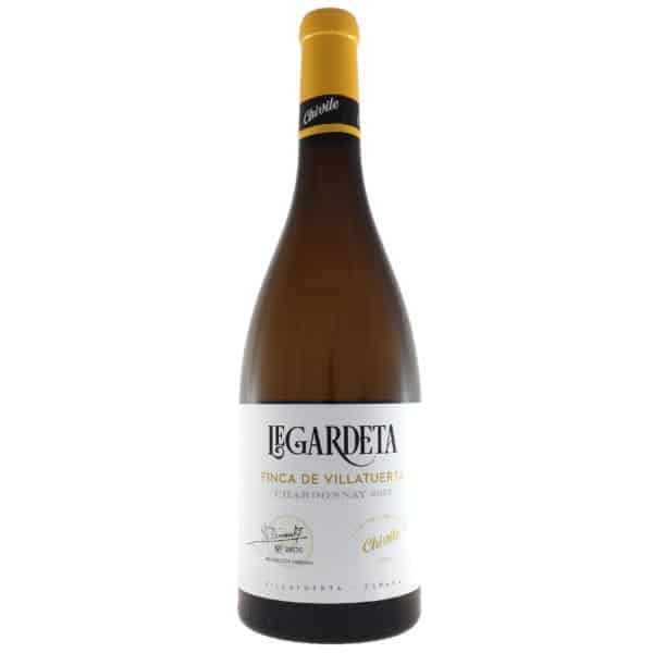 Bodegas Chivite - Legardeta Chardonnay 2017. Vino vendido por la tienda online de El Retrogusto es mío. Sarriguren