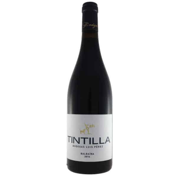 Luis Perez - Tintilla 2016. Vino vendido por la tienda online de El Retrogusto es mío. Sarriguren