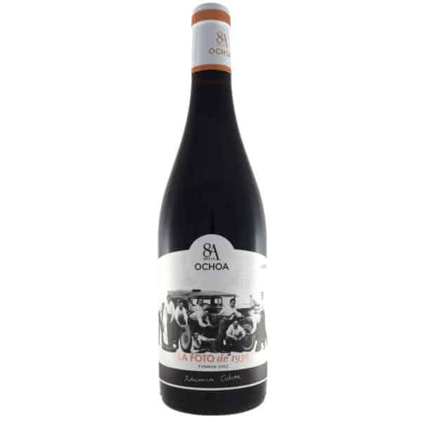 Ochoa---La-foto. Vino vendido por la tienda online de El Retrogusto es mío. Sarriguren