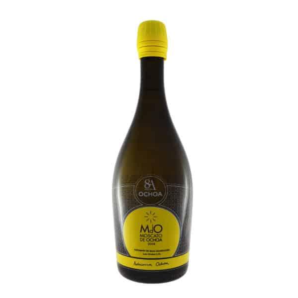 Bodegas Ochoa - Moscato de Ochoa 2018. Vino vendido por la tienda online de El Retrogusto es mío. Sarriguren