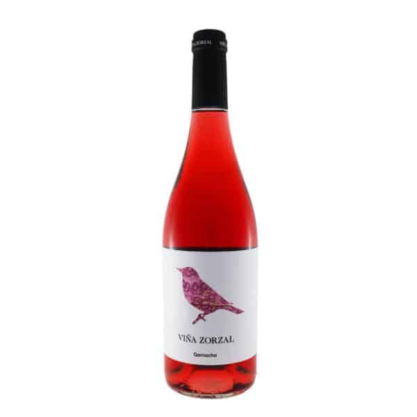 Viña Zorzal - Rosado 2018. Vino vendido por la tienda online de El Retrogusto es mío. Sarriguren