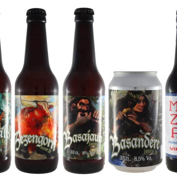 Conoce Biribil Brewing - 5ºAniversario. Cervezas vendidas por la tienda online de El Retrogusto es mío. Sarriguren