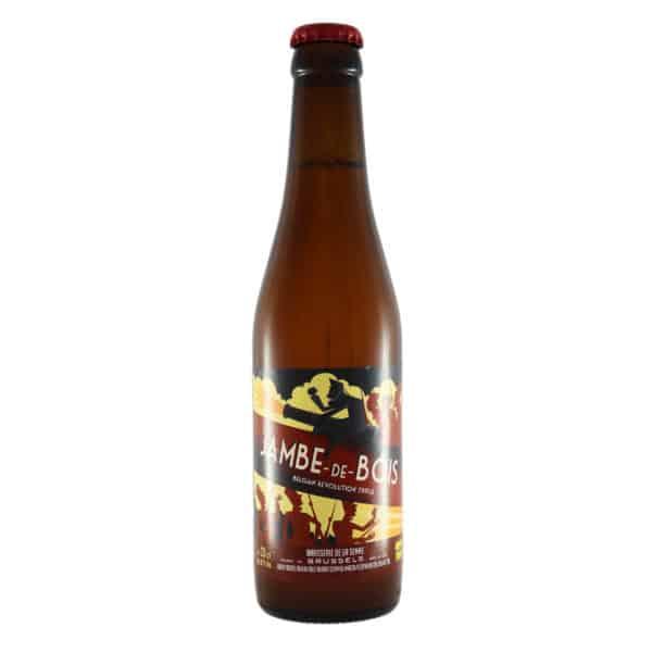 Brasserie de la Senne - Jambe de Bois. Cerveza vendida por la tienda online de El Retrogusto es mío. Sarriguren