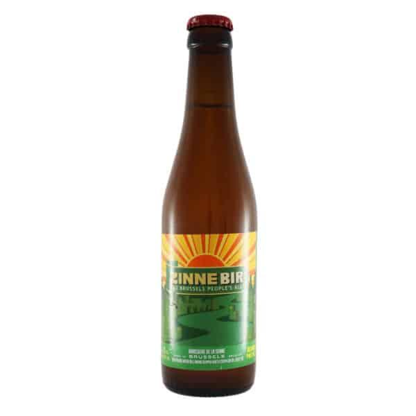 Brasserie de la Senne - Zinnebir. Cerveza vendida por la tienda online de El Retrogusto es mío. Sarriguren