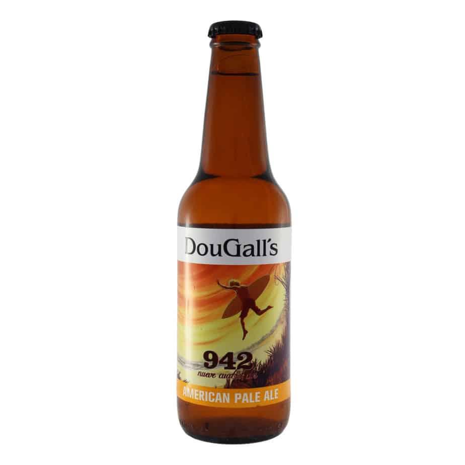 Dougall's - 942 Pale Ale. Cerveza vendida por la tienda online de El Retrogusto es mío. Sarriguren