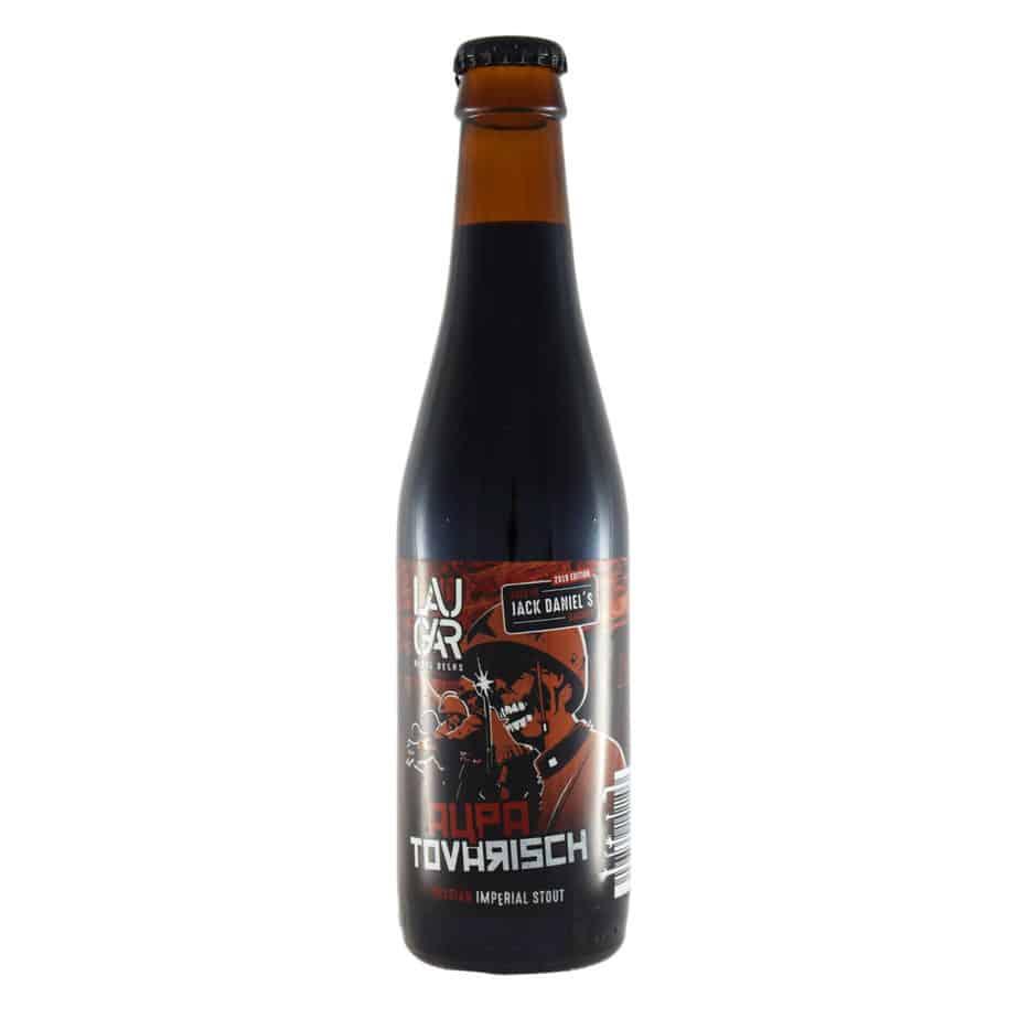 Laugar - Aupa Tovarisch Jack Daniels. Cerveza vendida por la tienda online de El Retrogusto es mío. Sarriguren