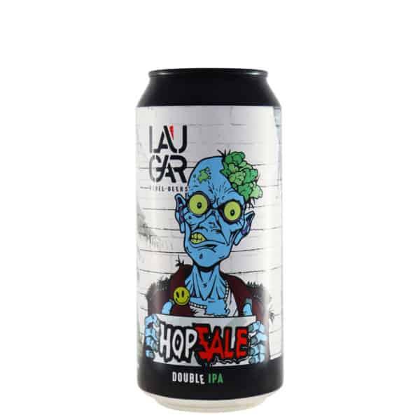 Laugar - Hopzale (Imperial IPA). Cerveza vendida por la tienda online de El Retrogusto es mío. Sarriguren