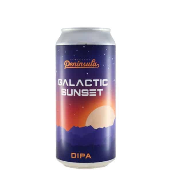 Península - Galactic Sunset. Cerveza vendida por la tienda online de El Retrogusto es mío. Sarriguren