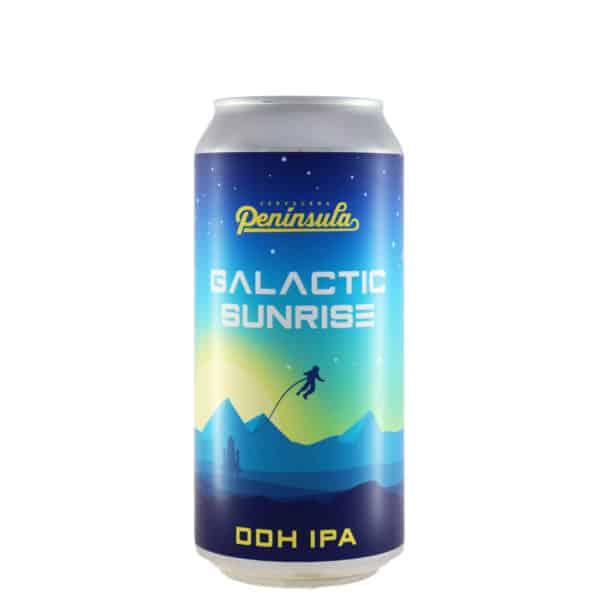 Península - Galactic Sunrise. Cerveza vendida por la tienda online de El Retrogusto es mío. Sarriguren