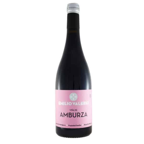 Emilio Valerio - Amburza 2015. Vino vendido por la tienda online de El Retrogusto es mío. Sarriguren