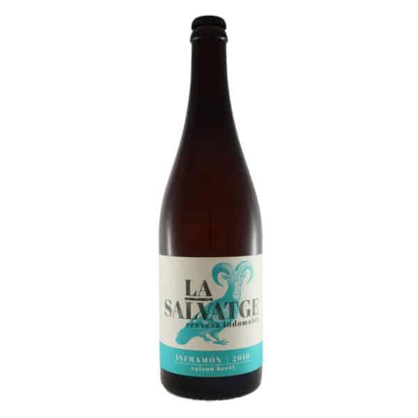 La Salvatge - Inframon 2019. Cerveza vendida por la tienda online de El Retrogusto es mío. Sarriguren