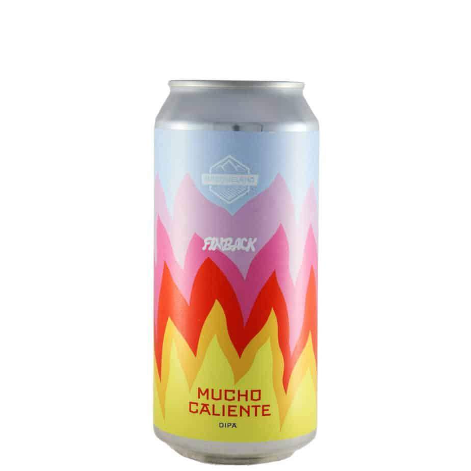 Basqueland + Finback - Mucho Caliente. Cerveza vendida por la tienda online de El Retrogusto es mío. Sarriguren