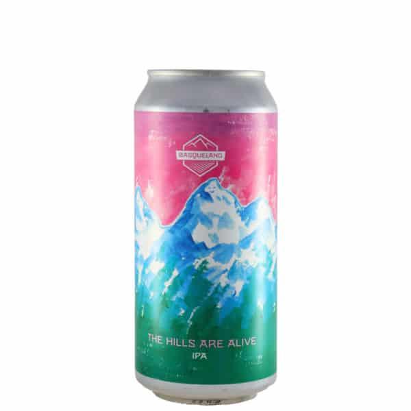 Basqueland - The hills are alive.Cerveza vendida por la tienda online de El Retrogusto es mío. Sarriguren