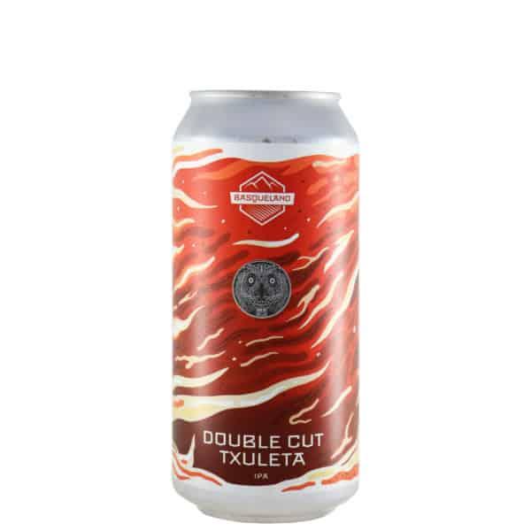 Basqueland + La quince - Double cut txuleta. Cerveza vendida por la tienda online de El Retrogusto es mío. Sarriguren