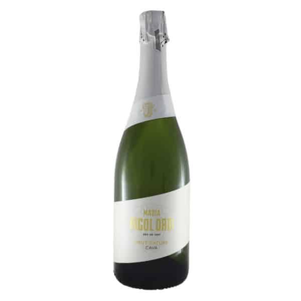 Maria Rigol Ordi - Brut Nature. Vino vendido por la tienda online de El Retrogusto es mío. Sarriguren