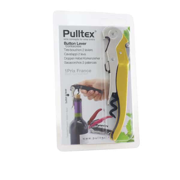 Sacacorchos doble palanca Pulltex. Accesorio vendido por la tienda online de El Retrogusto es mío. Sarriguren