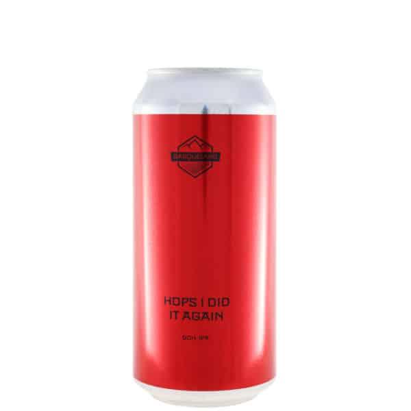 Basqueland - Hops I did it again. Cerveza vendida por la tienda online de El Retrogusto es mío. Sarriguren