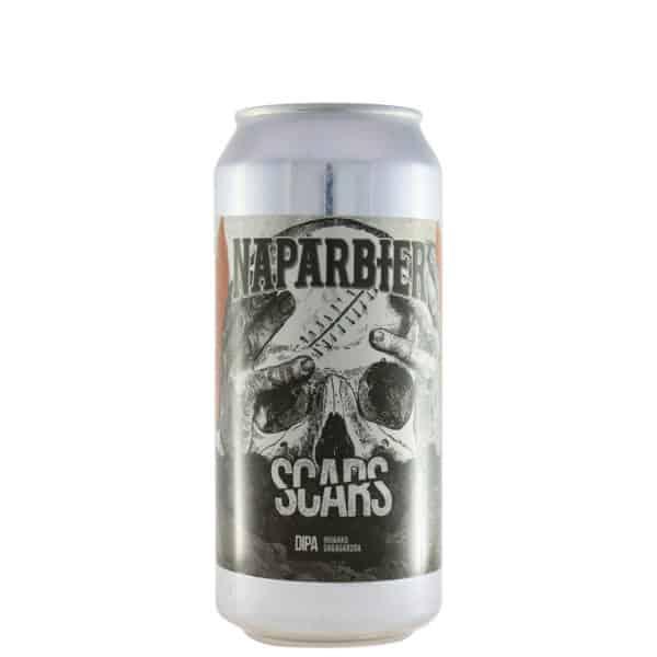 Naparbier - Scars. Cerveza vendida por la tienda online de El Retrogusto es mío. Sarriguren