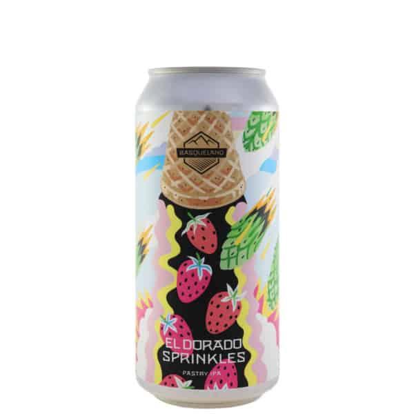Basqueland - El Dorado Sprinkles. Cerveza vendida por la tienda online de El Retrogusto es mío. Sarriguren