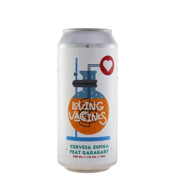 Espiga + Garagart - Loving Vaccines. Cerveza vendida por la tienda online de El Retrogusto es mío. Sarriguren