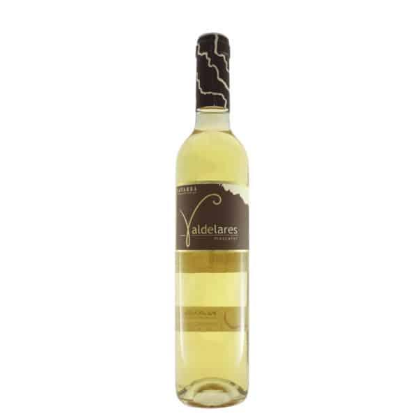 Valdelares - Moscatel 2014. Vino vendido por la tienda online de El Retrogusto es mío. Sarriguren