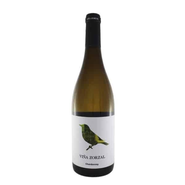 Viña Zorzal - Blanco Chardonnay 2019. Vino vendido por la tienda online de El Retrogusto es mío. Sarriguren